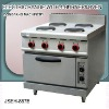 electric range with grill top, DFEH-887B electric range with 4 burner and oven