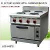 electric range with oven, electric range with 4 burner and oven