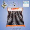 evacuated tube solar water heater with mix valve, electric heater, controller