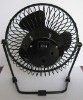 fashion usb metal fan black