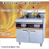 fish and chips fryers, electric 2 tank fryer (4-basket)