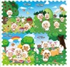 floor puzzle mat with Pleasant Sheep printing