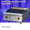 food machine, DFGH-989-1 counter top gas lava rock grill