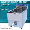 fryer pressure fryer counter top electric 1 tank fryer(1 basket)