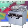 fryer pressure fryer, electric 2-tank fryer(4-basket)