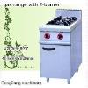 gas burner JSGH-977 gas range with 2 burner ,kitchen equipment