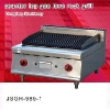 gas lava grill, counter top gas lava rock grill