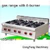 gas range burner JSGH-997-1 gas range with 6-burner ,kitchen equipment