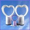 heart shape bladeless fan for home appliances