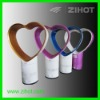 heart shaped table fan for air cooling