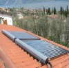 home used split vacuum tube pressurized solar water heater