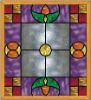in Full-Color Tiffany Stained Glass Windows