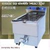 industrial deep fryer DF-12L counter top electric 1 tank fryer(1 basket)