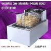 industrial deep fryer, counter top electric 1 tank fryer(1 basket)