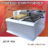industrial fryer New style counter top electric 2 tank fryer(2 basket)