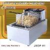 industrial fryer, counter top electric 1 tank fryer(1 basket)