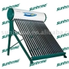 integrated direct plug solar water heater
