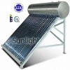integrated non-pressurized solar water heater,solar water heater with assistant tank,solar water heater with reflector
