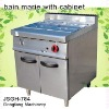 kitchen cooking equipment, bain marie with cabinet