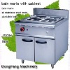 kitchen cooking equipment bain marie with cabinet ,kitchen equipment
