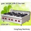 lighter gas, gas range with 6-burner