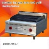 multifunction lava grill, counter top gas lava rock grill