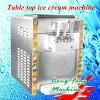 multifunctional counter top machine for making ice cream