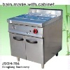outdoor cooking equipment, bain marie with cabinet