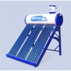 patent triple-core compact unpressurized solar hot water heater