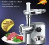 polish stainless steel meat grinder
