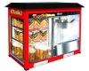 popcorn machine & warming showcase