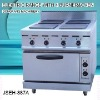 portable electric range, JSEH-887A electric range with 4-burner and oven