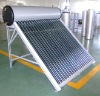 pressurized 24 tubes solar water heaters