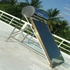 pressurized black chrome thermosyphon solar energy water heater(80L)