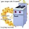 range burner covers JSGH-977 gas range with 2 burner ,kitchen equipment