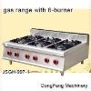 range burner covers JSGH-997-1 gas range with 6-burner ,kitchen equipment