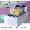restaurant electric fryer, counter top electric 1 tank fryer(1 basket)