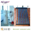 separated pressured solar water heater system with heat pipes(CE ISO SGS Approved)