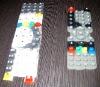 silicone remote controller button
