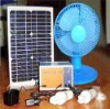 solar powered 12V dc fan