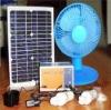 solar powered 12V dc fan