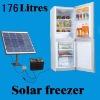 solar refrigerator with DC compressor / solar freezer