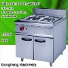stainless steel cooking equipment bain marie with cabinet ,kitchen equipment
