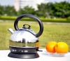 stainless steel electric kettle with keep warm function