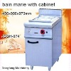 stainless steel food warmer JSGH-974 bain marie with cabinet ,kitchen equipment