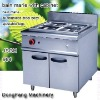 stainless steel food warmer JSGH-984 bain marie with cabinet ,food machine