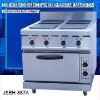 table top electric range, JSEH-887A electric range with 4-burner and oven