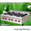table top gas burner, gas range with 6-burner