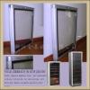 wine cooler glass door