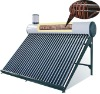 with copper coil pre-heated and pressurized solar water heater